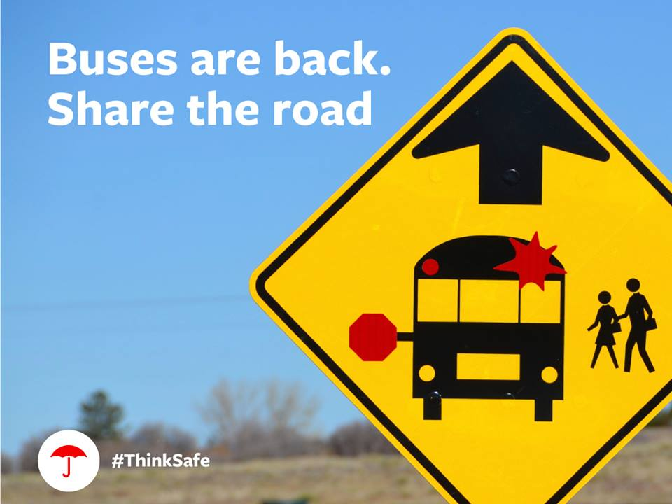 Stay Safe by Sharing the Road